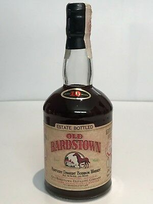 OLD BARDSTOWN 10 YEARS OLD KENTUCKY STRAIGHT WHISKEY BOURBON 101 PROOF 75cl.