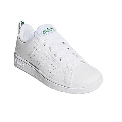 online store eaedb 06810 Scarpe Bambino a Adidas Advantage CL K AW4884 Bianco Verde Sneakers Shoes  Nuovo
