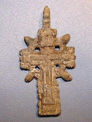 Ancient Bronze Cross. Rare. Original