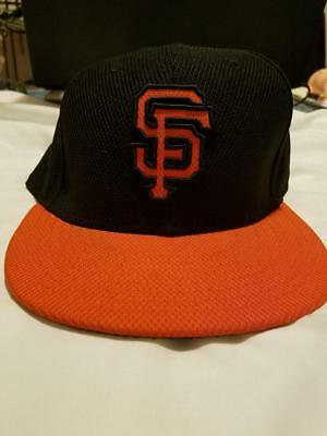 90cb1a786de NEW ERA SAN Francisco SF Giants GAME 59Fifty Fitted Hat (Black) MLB ...