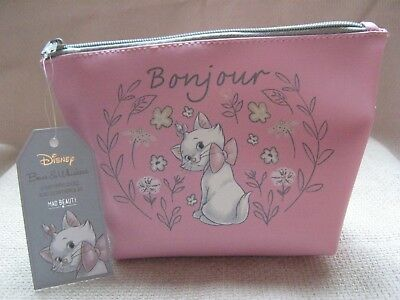 32d72c6505 Disney Aristocat Maria Bows And Whiskers Cosmetic makeup Bag Mad Beauty  Bnwt New