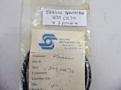 Sealing Specialties 239CR70 O-Ring (Pack of 2)