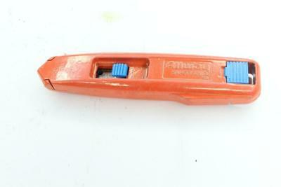 AARKB7 Utility Knife Self-Retracting Safety Blade 6 Blades Included Orange