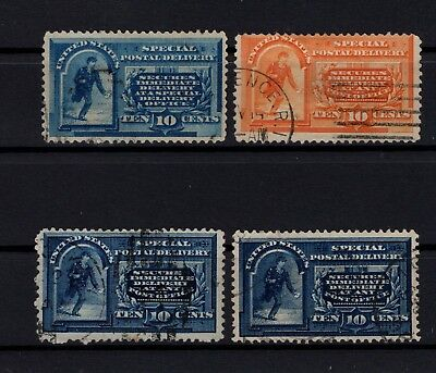 Bp101339/ United States / Express / Y&t # 3 – 5 / 7 Obl / Used 150 €