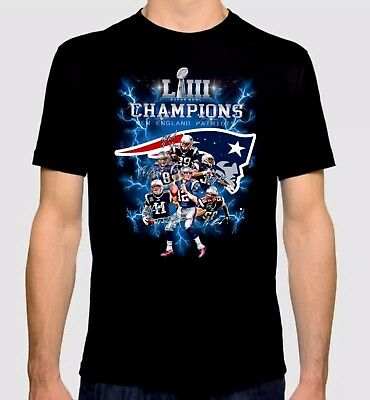 New England Patriots Super Champion T-Shirts With Players