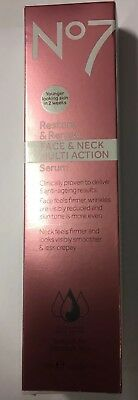 Boots No7 Restore and Renew /face & Neck Multi Action Serum 50ml