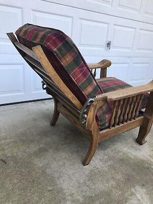 Antique Oak Morris Chair