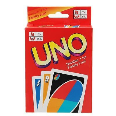 Uno Card Game 108 Playing Cards Indoor Family Children Friends Party Gift Uk Fun