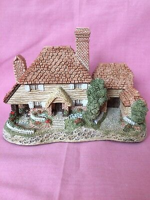 Kent Cottage By David Winter 1985 Handmade & Hand Painted Pristine Condition