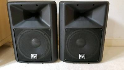 EV Electrovoice sx300 speakers with cover
