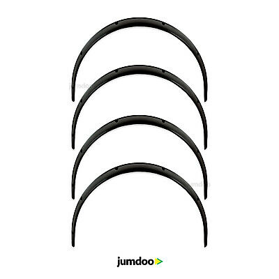 Universal JDM Fender flares over wide body wheel arches ABS 120mm 4pcs