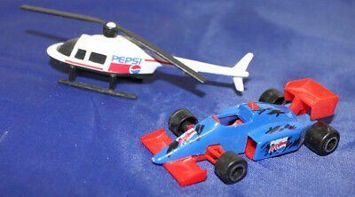 PEPSI 1993 Golden Wheel Pepsi Team Racer Die-Cast Vehicle HELICOPTER Race Car