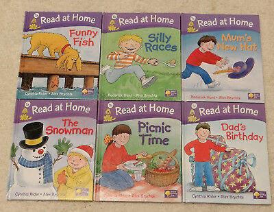 Oxford Reading Tree, Read at Home  Stage 1,  6 HARDBACK books