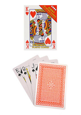 Extra Large Playing Cards - GIANT 17cm X 12cm / JUMBO 12.4CM X 8.7CM