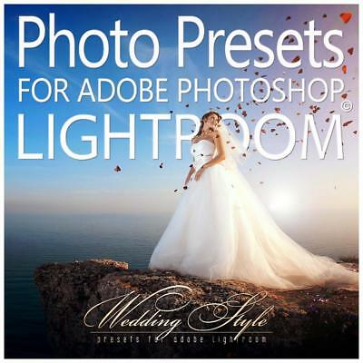 Photo Presets for Lightroom / Wedding Style eos