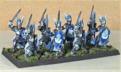 Warhammer, lotr painted, Knights of Dol Amroth