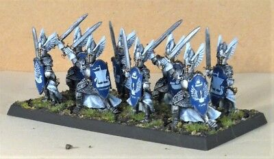 Warhammer lotr painted, Knights of Dol Amroth