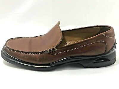 eafb09b8b79 Cole Haan Santa Barbara Brown Men s Loafers NikeAir Sole Size 10.5M 07184