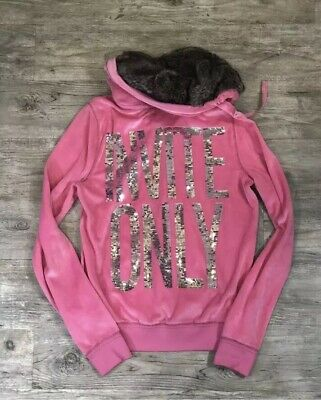 2c280f55 VICTORIA SECRET PINK NFL New York Jets Hoodie Sequin Bling SO CUTE ...