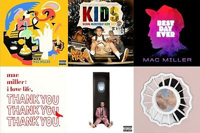 Mac Miller  -6 Mixtape CD Best Day Ever, KIDS, Swimming, Faces, Thank You SEALED