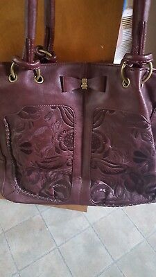 NICA of London embellished leather handbag