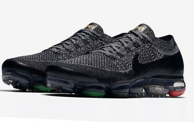 Nike Air Vapormax Black History Month BHM Sz 8.5 Flyknit (pre-owned) L@@@k!!