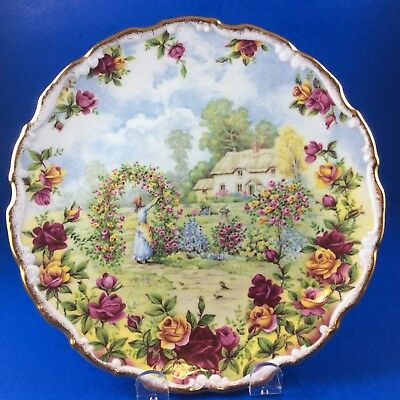 Royal Albert Old Country Roses 25th Anniversary Salad Plate