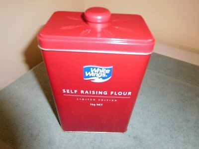 "WHITE WINGS Self Raising Flour ""Limited Edition"" Container"