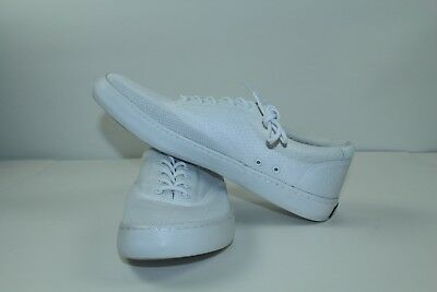 9bb24f9153d Sperry Top Sider Mesh Vented White Men s NWOB Size 12 Memory Foam Shoes!