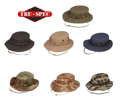 TACTICAL BOONIE HAT Tru-Spec 100% Cotton Ripstop Made to US Mil-Spec ... 39ed3e22d3d8
