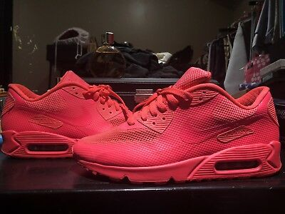 timeless design 4a86c 86a21 nike id air max 90 solar red