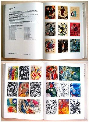 CHAGALL Complete CATALOGUE RAISONNE 114 Illustrated BOOKS Paintings SIGNATURES