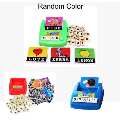 Baby Kids English Spelling Alphabet Letter Game Early Learning Educational Toy