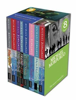 Michael Morpurgo Series Collection 8 Books Set Why The Whales Came, War Horse