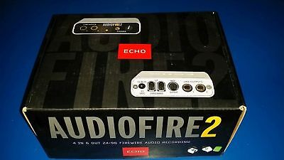 Echo Audiofire 2 - 4 In 6 Out 24-96 Firewire Audio Recording Interface - Nuova