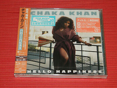 2019 JAPAN SHM CD CHAKA KHAN Hello Hapiness with Bonus Track For Japan