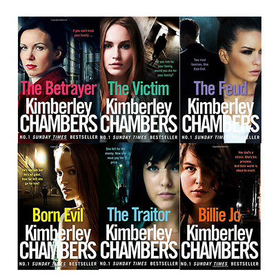 Kimberley chambers 6 books collection set pack Paperback Victim Feud Traitor BE