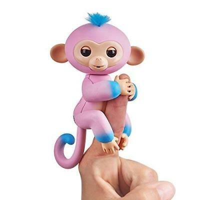 Fingerlings Baby Monkey - Two Tone - Candi (Pink and Blue) NEW