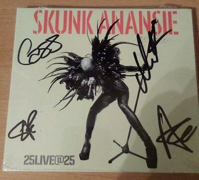 Skunk Anansie - 25Live@25 - Hand Signed - Deluxe 2Cd Album - New / Sealed