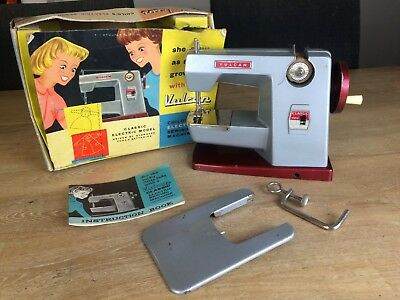 Vintage 1950s Vulcan Classic Child's Electric Sewing Machine