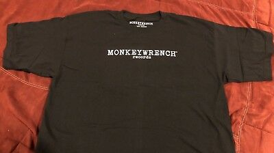 PEARL JAM - Monkeywrench Records T-Shirt size XL eddie vedder BRAND NEW x-large