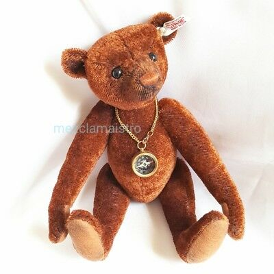 Steiff Nando bear working compass EAN 035166 LE mohair jointed FAST SHIPPING