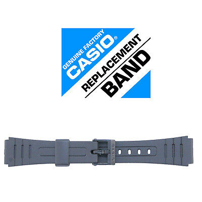 Casio 71604002 Genuine Factory Resin Band, Fits F-105W-1A, and others - NEW!