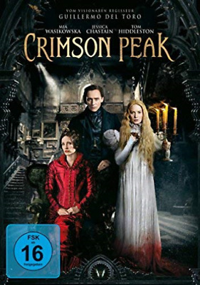 Crimson Peak - (German Import) (Uk Import) Dvd New