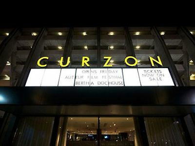 Curzon Cinema Tickets - ANY UK Curzon - Standard or Pullman Tickets