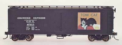 YesterYear Models N Scale Y31016-01 Tom Cat Black GEX Refrigerator Car