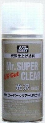 Gunze-Sangyo Mr. Super Clear UV Cut Gloss 170ml (Spray) - #b522