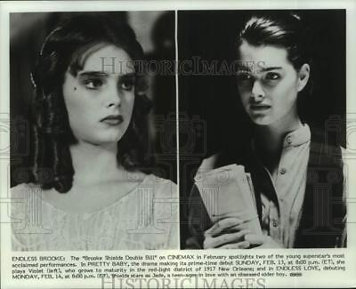 """Press Photo Actress Brooke Shields stars in """"Pretty Baby"""" and """"Endless Love"""""""
