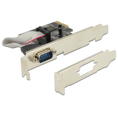 Delock 89236  interface cards/adapter Modem - PCI-Express - 0.23 Mbps -