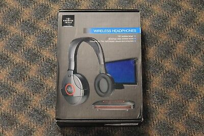 Sharper Image Shp921 Universal Wireless Headphones For Tv Computer